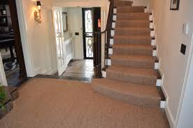 add elegant carpet runners for stairs to your home fresh interior design with wall sconce