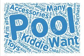 Pool Word Popular Pool Accessories For Kiddie Pools Text Background Word