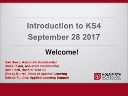 Introduction to KS4 September - ppt download