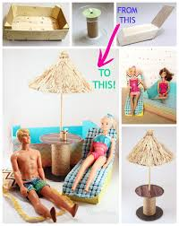 how to make barbie furniture. A Little Coat Of Paint, Pretty Paper, And Bit Ribbon Really Go Looong Way! How To Make Barbie Furniture