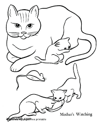 Dog And Cat Coloring Pages Printable Free D