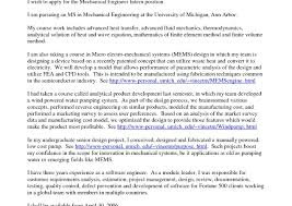 Engineering Cover Letter Examples For Resume Engineering Cover Letter Example Sample Internship Resume Creative 47