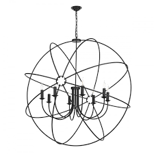 orb 8 light ceiling pendant