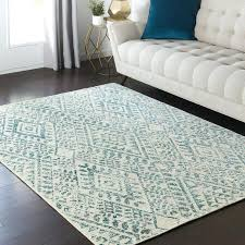 teal brown area rug bungalow rose teal cream area rug reviews in and brown rugs decorations