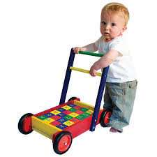 baby walker with abc blocks