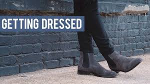 Men's <b>Chelsea Boot</b> Outfit Inspiration | Getting Dressed (Outfits Step ...
