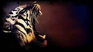 Tiger art wallpaper, Tiger wallpaper