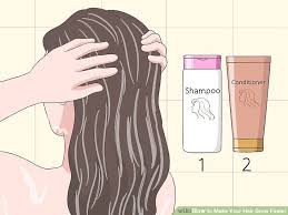 3 Ways To Make Your Hair Grow Faster Wikihow