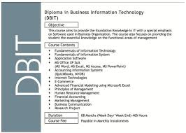 diploma in business and information technology dbit siksil  siksil institute of business and technology sibt