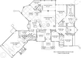 Belt Creek Ranch House Plans   Home Plans By Archival DesignsBelt Creek Ranch House Plan