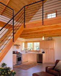 Small Loft Design Tiny House With Loft White Painted Interior Small Homes