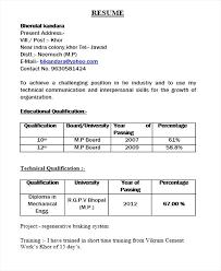 Proper Resume Format 2017 Resume Resume Examples For High School