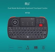 <b>Rii RT726 Bluetooth 2.4Ghz</b> Dual Mode Mini Wireless Keyboard Air ...