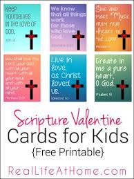 Religious Valentine Cards For Kids Free Printables In Multiple