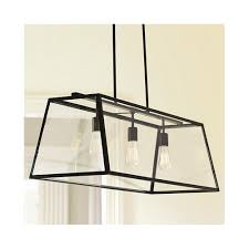 what size linear pendant length for
