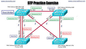 Designated Port Vs Root Port Stp Practice Exercise Best Cisco Ccna Ccnp And Linux