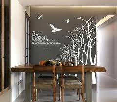 winter tree wall decals wonderful dining room wall decals creative dining  room wall back to creative