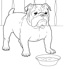 Small Picture French Bulldog coloring page Free Printable Coloring Pages