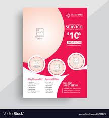Beauty Spa Flyer Design Template
