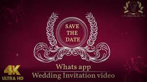 Wedding Invitation Video Free Indian Invitation Cards Video Maker