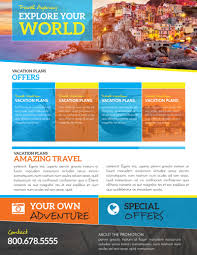 Special Offer Flyer World Special Travel Offer Flyer Template