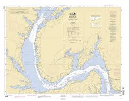 Potomac River Charts Historical Nautical Chart 12288 10 2007 Potomac River Lower Cedar Point To Mattawoman Creek