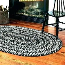 oval kitchen rugs shaped braided cotton round rug sears country x am half h