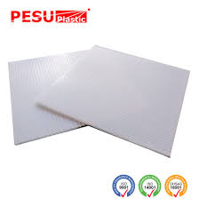 corrugated plastic sign blank sheets short flute 36 x 24 4mm white