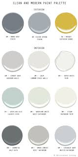 Modern Bedroom Paint Colors 17 Best Ideas About Modern Paint Colors On Pinterest Interior