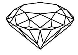 Small Picture Diamond Coloring Pages FunyColoring