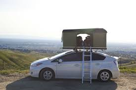 A Pop-Top Camper For Your Prius | Camping | Camper, Rv camping
