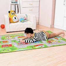 yousa kids play rug city life play carpet 39 x59 b072fjtr58
