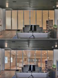 switchable glass bi fold doors