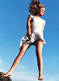 Keri Russell Mademoiselle Magazine May 2001 Keri Russell In Motion