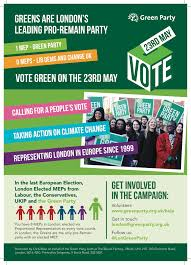 Green Party Flyer London Green Party Elections