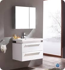 modern bathroom furniture cabinets. fresca medio white modern bathroom vanity w medicine cabinet furniture cabinets