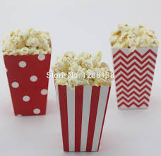 Decorative Popcorn Boxes 60pcs Small Movie Night Popcorn Boxes Kids Birthday Party Favor 2