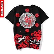 <b>Мужская футболка</b> из 100 хлопка <b>с</b> принтом дьявола в японском ...