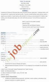 Lab Technician Resume Sample Resume format for Technician Awesome Lab Technician Resume 51