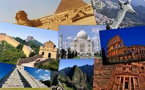 travel technology home improvement education fashion history of the seven new 7 wonders of the world
