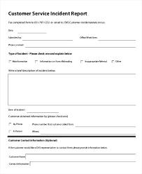 Template Incident Report Form Template Sample Nursing Home Customer