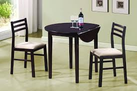 Kitchen Dining Furniture Amazoncom Coaster 3 Piece Dining Set Cappuccino Kitchen Dining
