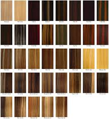 Chocolate Hair Weave Color Chart Best Hair Color Charts Hairstyles Weekly
