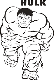 hulk coloring page impressive incredible