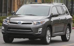 2011 Toyota Highlander Hybrid - Information and photos - ZombieDrive
