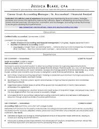 20 Free Certified Public Accountant Resume Samples Sample Resumes