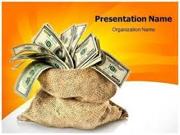 Free Money Ppt Templates Download Our Professional Looking Ppt Template On Money Bag And Make