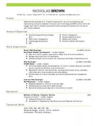 examples of resumes a th grade expository student writing best resume examples for your job search livecareer regard to show me a resume