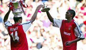Image result for thierry henry and kanu nwankwo