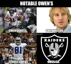 "NFL Memes on Twitter: ""Notable Owen's.. http://t.co/GtkhsXbCrv"" via Relatably.com"